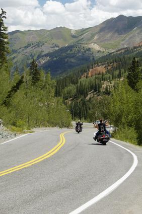 scenic mountain highway