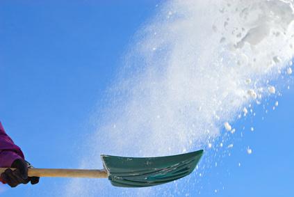 DeKok Insurance Group Inc, snow shoveling, winter in MN