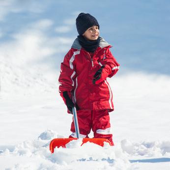 DeKok Insurance Group, shoveling, winter in MN